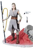 Star Wars Black Series Rey on Crait