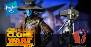 Review : Star Wars Black Cad Bane and TODO 360, Exclusive, The Clone Wars