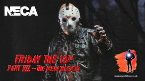 NECA Friday the 13th Part VII Jason Voorhees, Boxed Images
