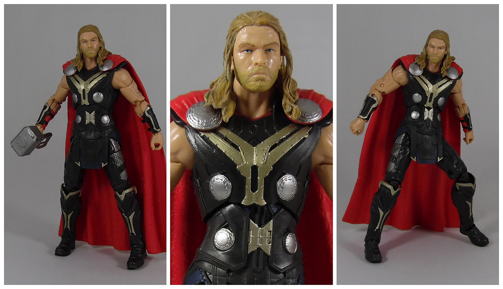 Action Figure Review Marvel Legends Infinite Series Thor Age of Ultron