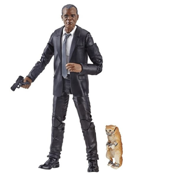 Captain Marvel 6 inch Legends action figures 2019. Nick Fury