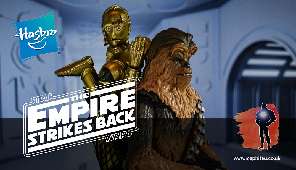 star wars black series chewbacca and c-3po from the empire strikes back