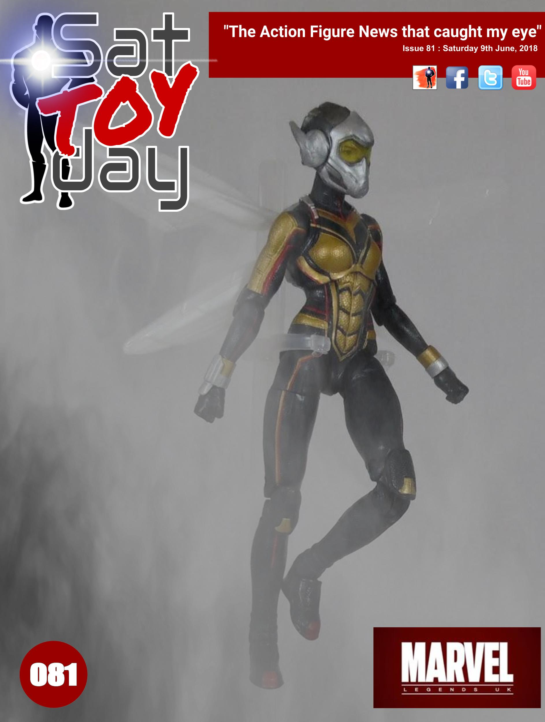 081 Action Figure Sat-TOY-day News, 9th June 2018