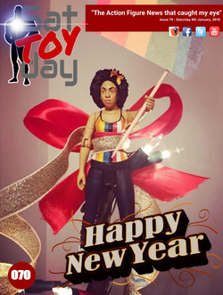 070 Action Figure Sat-TOY-day News, 6th January 2017