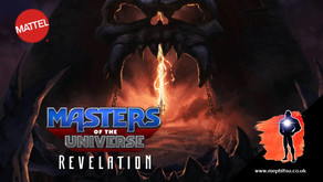 Masters of the Universe Revelation Action Figures from Mattel