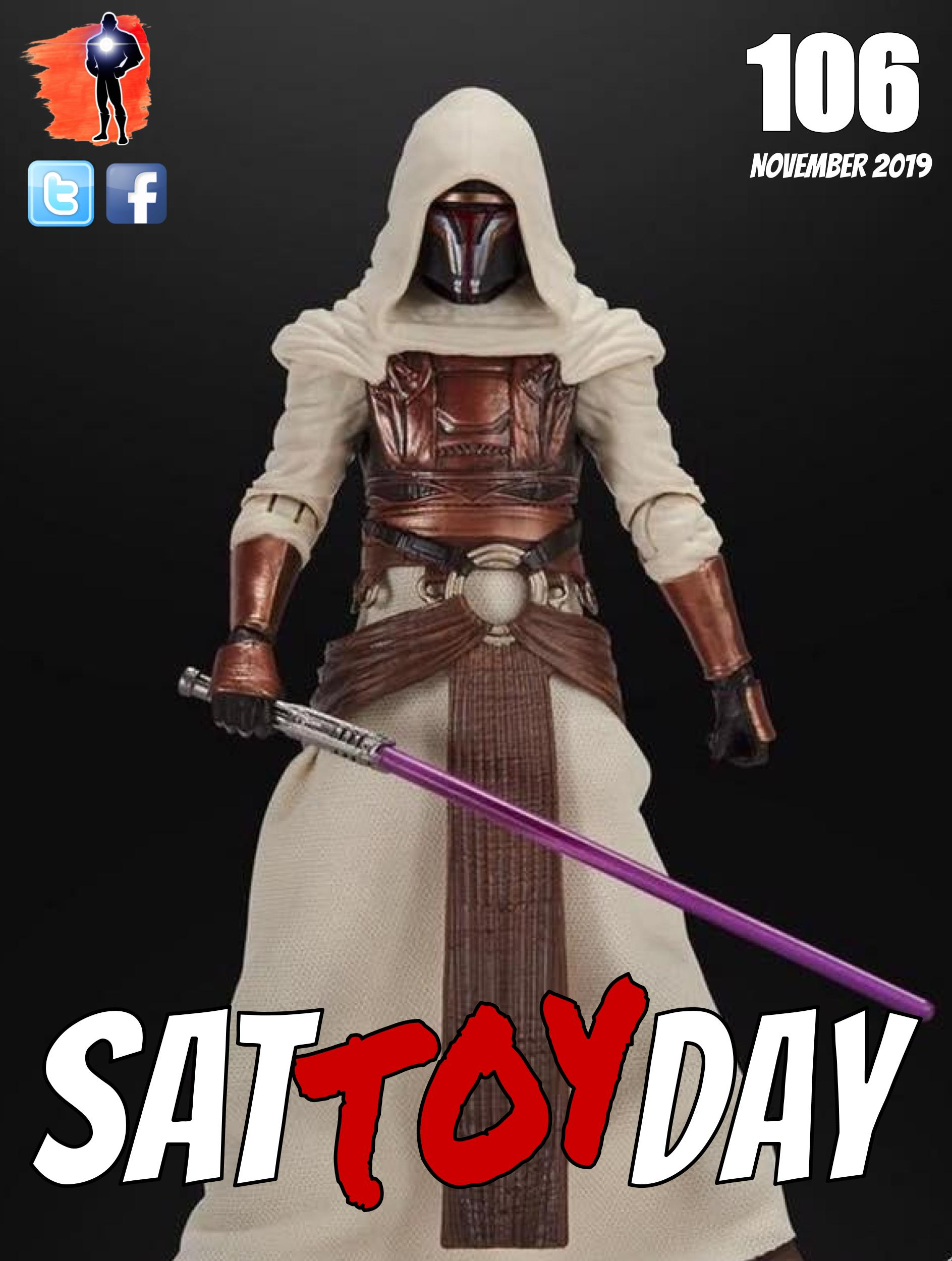 106 Action Figure Sat-TOY-day News, Nove