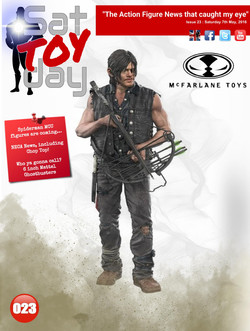 023 Action Figure Sat-TOY-day News, 7th May 2016