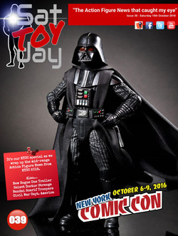 039 Action Figure Sat-TOY-day News, 15th October 2016