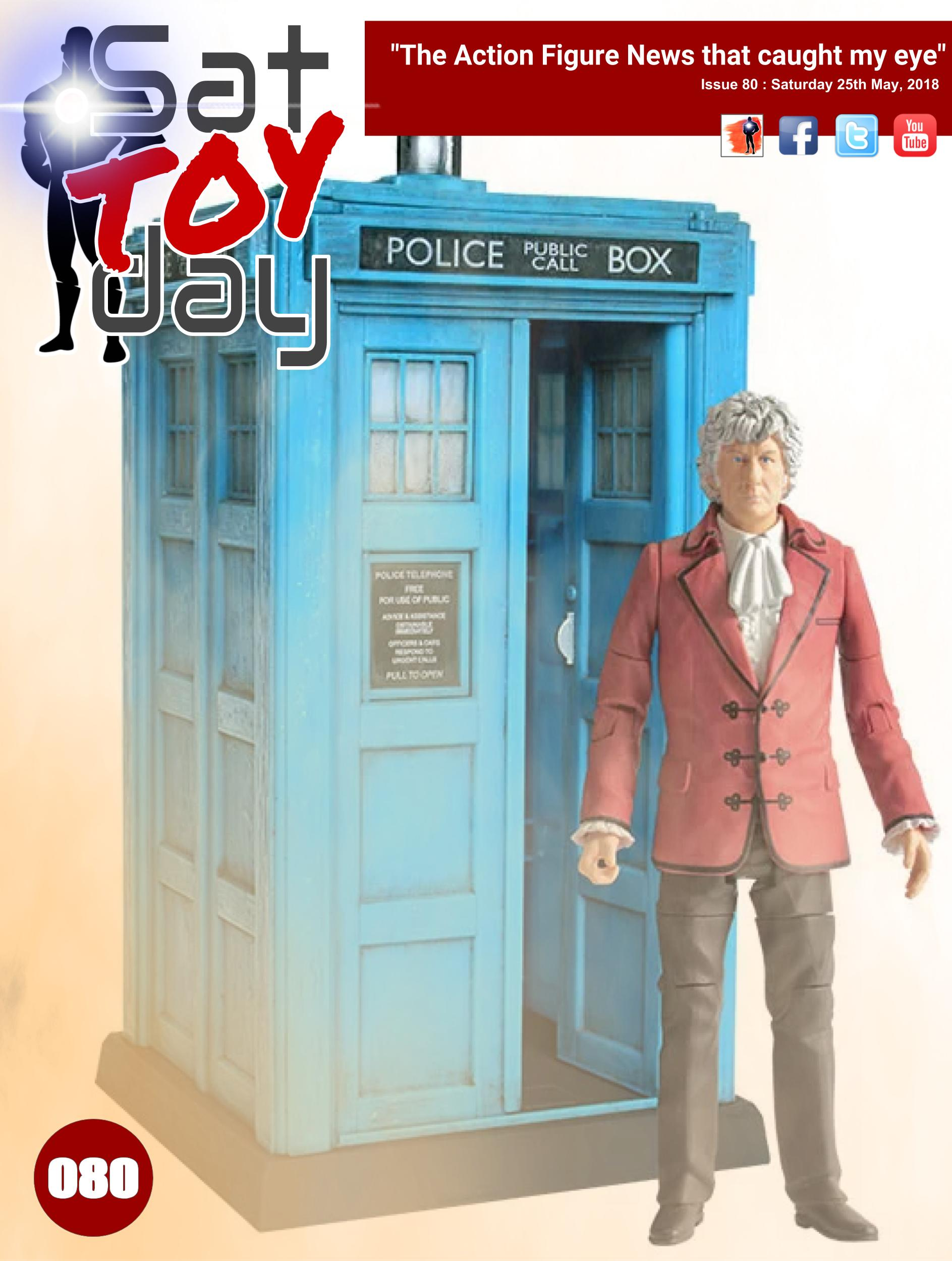 080 Action Figure Sat-TOY-day News, 25th May 2018