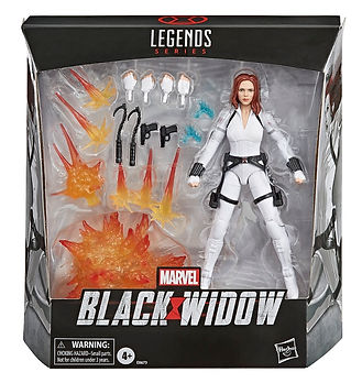 Black Widow, White Suit