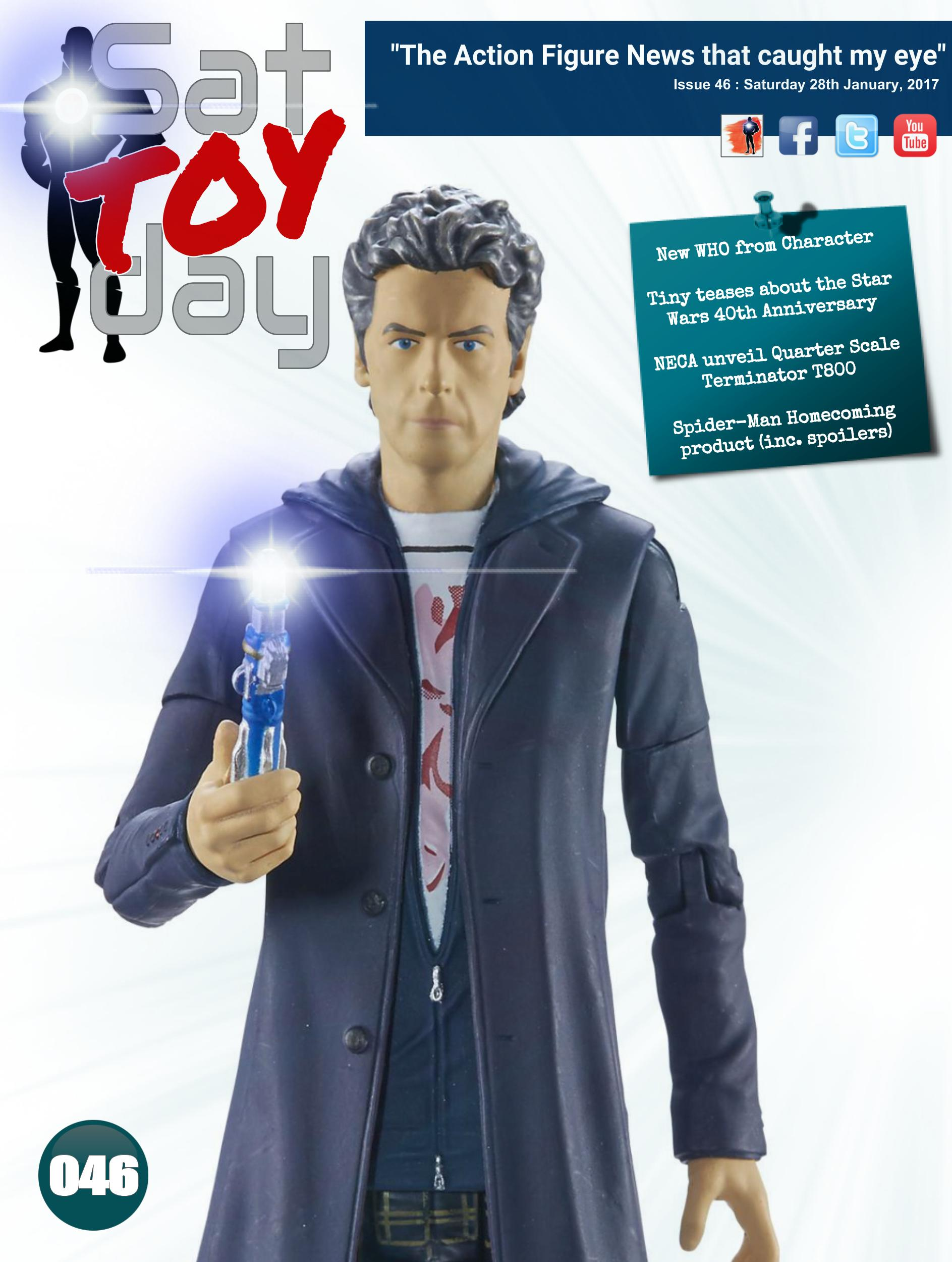 046 Action Figure Sat-TOY-day News, 28th January 2017