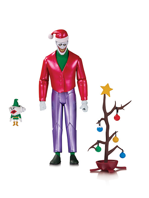 dc direct christmas with the joker action figure