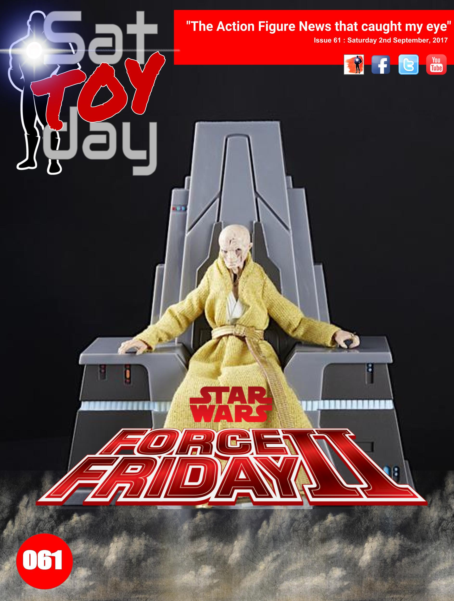 061 Action Figure Sat-TOY-day News, 2nd September 2017