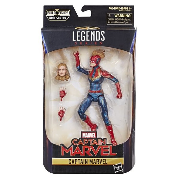 Captain Marvel 6 inch Legends action figures 2019