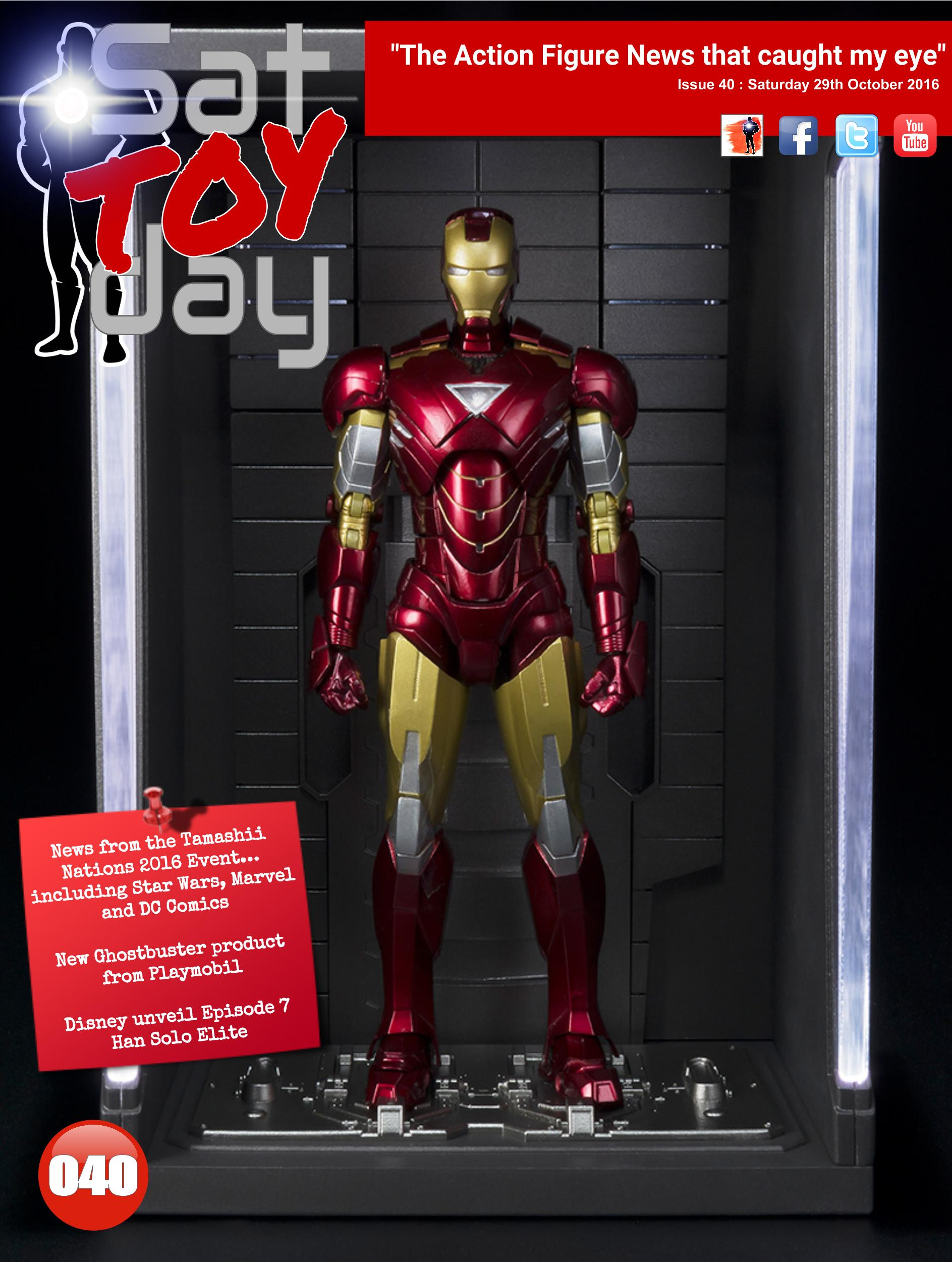 040 Action Figure Sat-TOY-day News, 29th October 2016