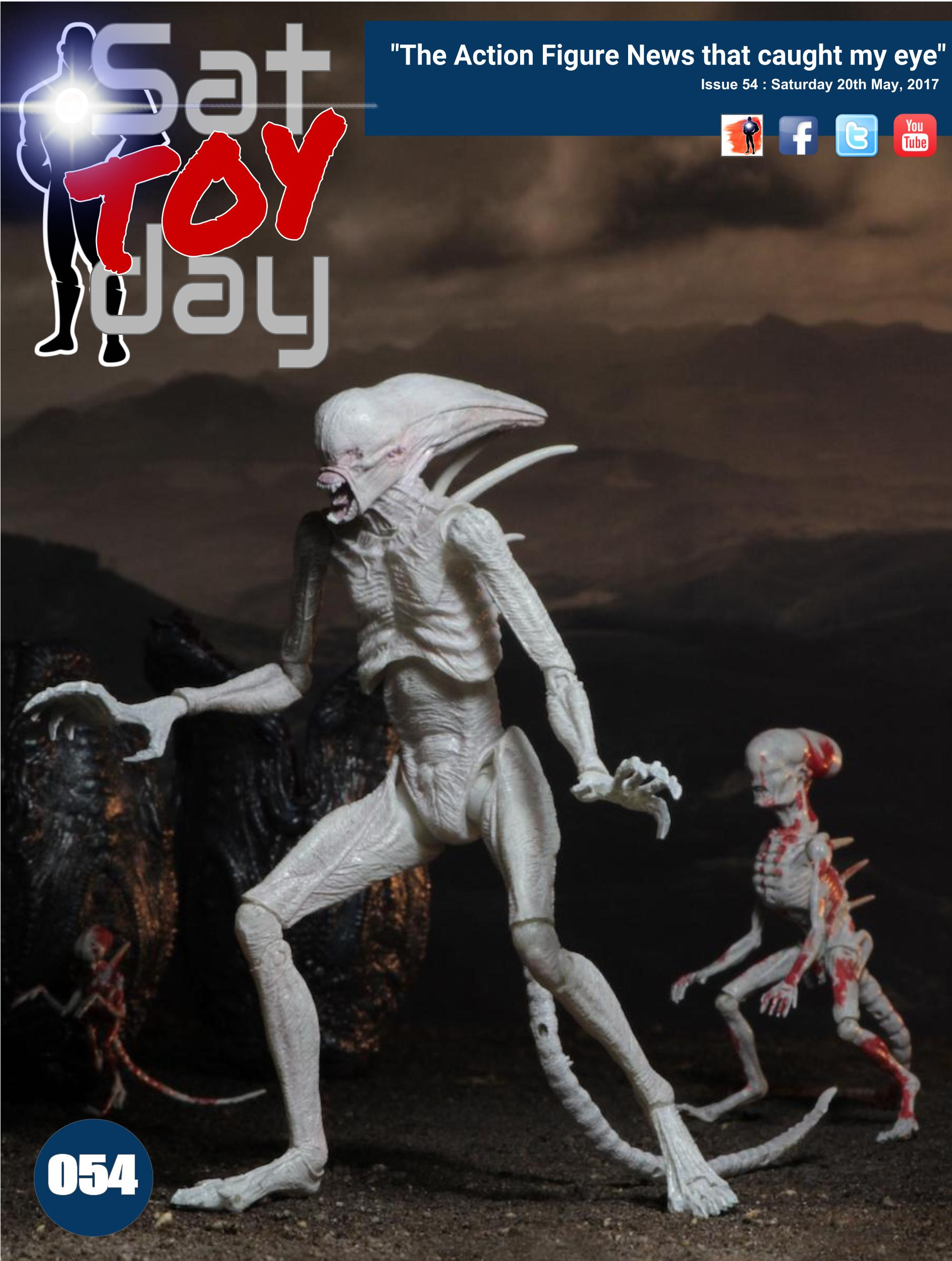 054 Action Figure Sat-TOY-day News, 20th May 2017