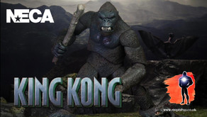 NECA Ultimate King Kong with Pteranodon and Pit Monster