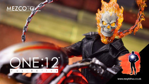 Mezco One:12 Collective Marvel Ghost Rider and Hell Cycle