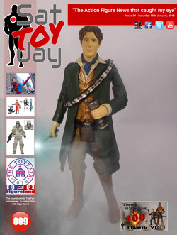 009 Action Figure Sat-TOY-day News, 16th January 2016