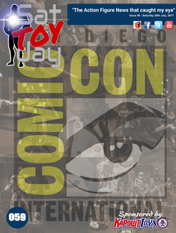 059 Action Figure Sat-TOY-day News, SDCC Special, 29th July 2017