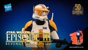 Review : Star Wars Black Series Archive Clone Commander Cody, Revenge of the Sith