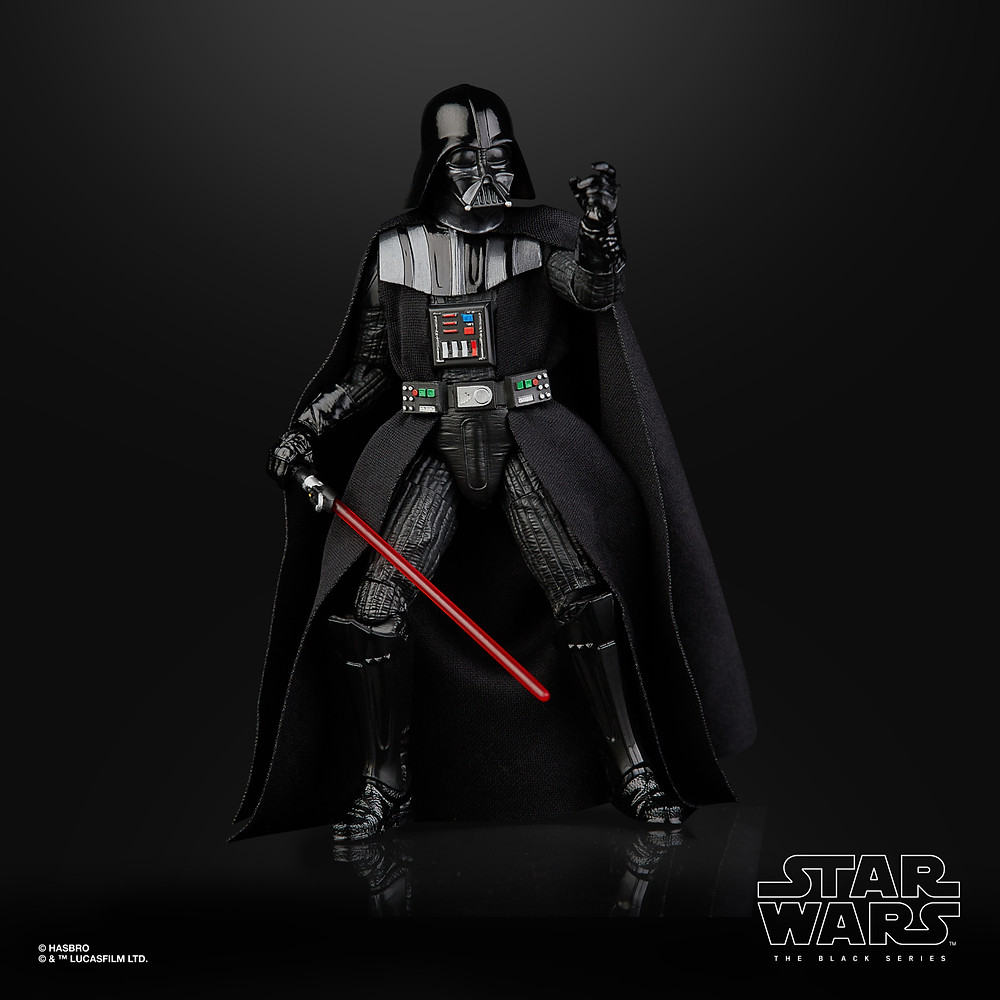 star wars black series darth vader from the empire strikes back action figure by hasbro