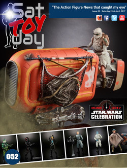 052 Action Figure Sat-TOY-day News, 22nd April 2017