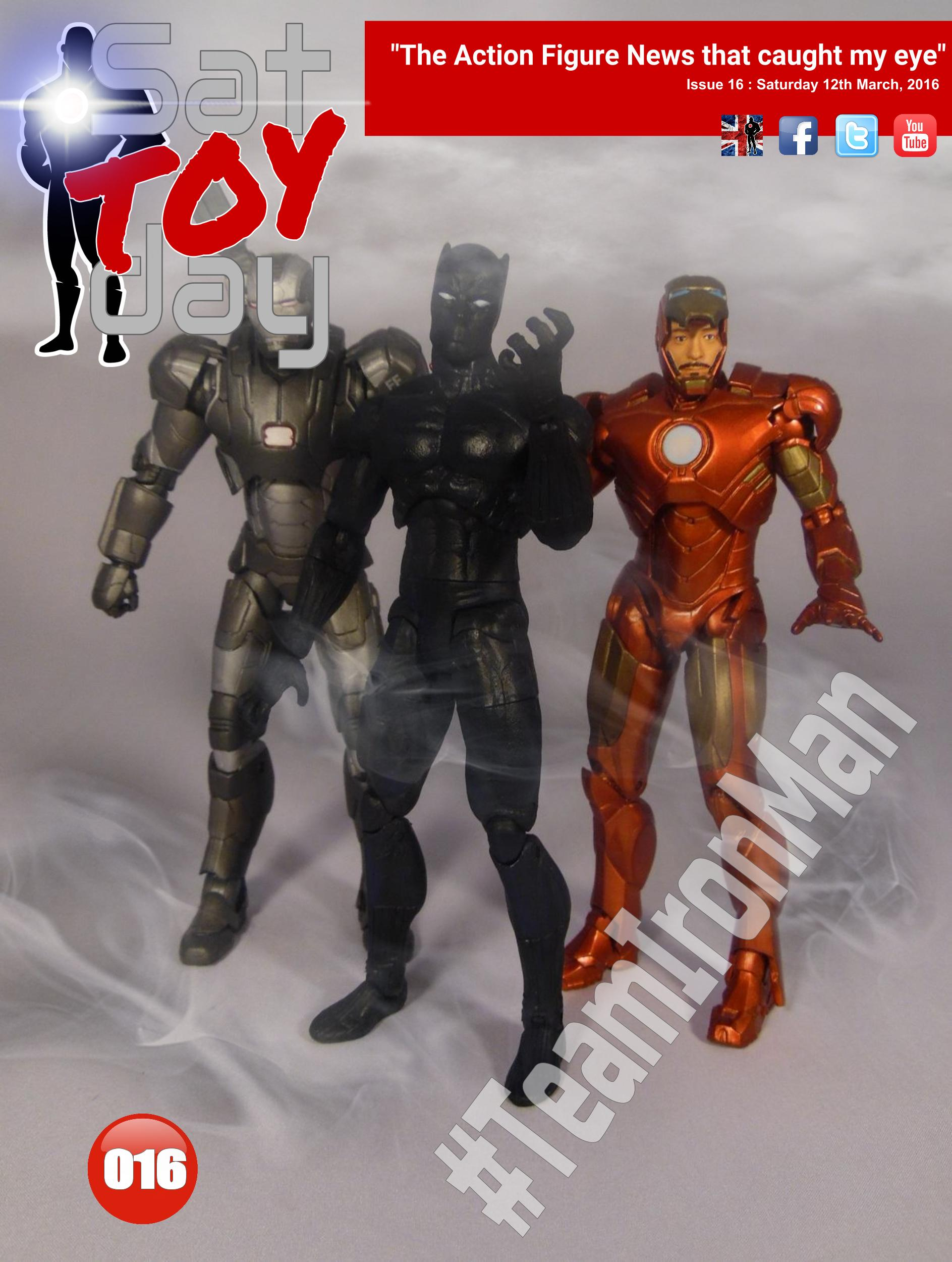 016 Action Figure Sat-TOY-day News, 12th March 2016