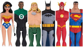 """New DC 6"""" Animated Justice League Figures available via the upcoming DC Universe subscription s"""