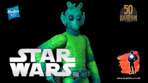 Review : Star Wars Black Series Greedo, Vintage Carded Kenner Inspired, Amazon Exclusive