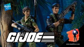 Hasbro GI Joe Classified Series of Lady Jaye & Flint