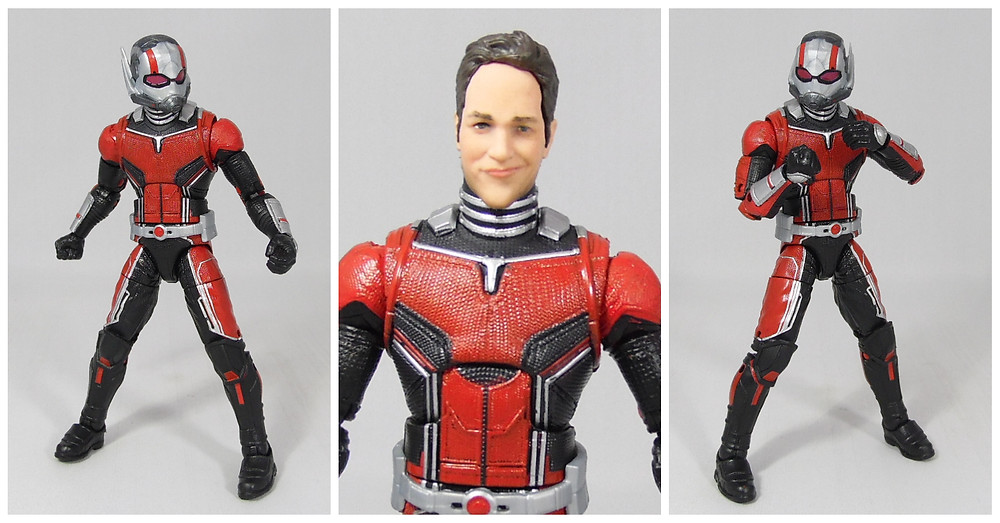 action figure review of the 6 inch marvel legends ant-man from the ant-man and the wasp, cull obsidian wave