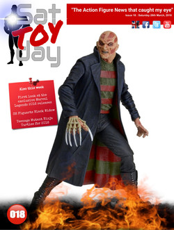 018 Action Figure Sat-TOY-day News, 26th March 2016