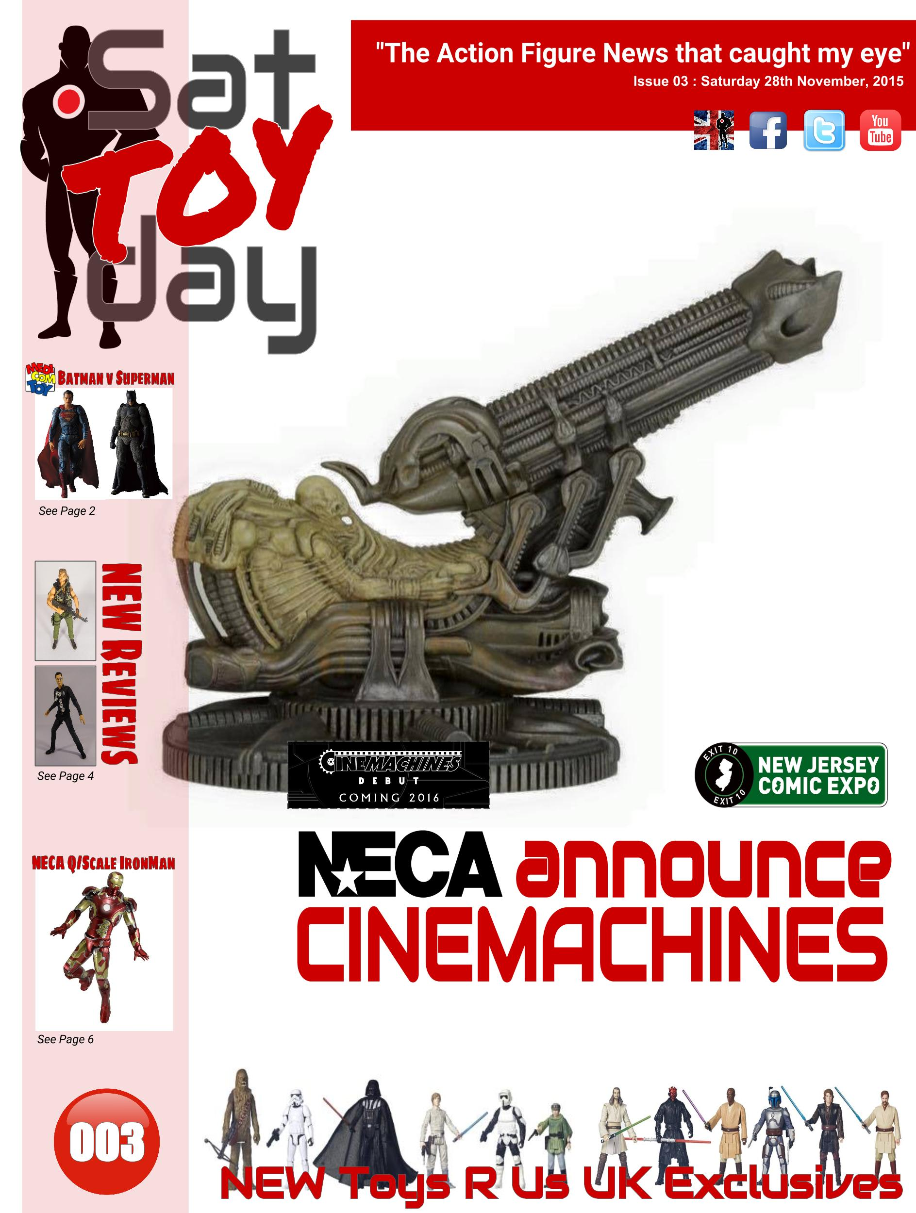 003 Action Figure Sat-TOY-day News, 28th November 2015
