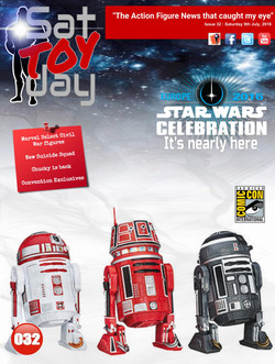032 Action Figure Sat-TOY-day News, 9th July 2016