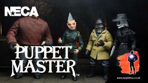 NECA Puppet Master figures, packaging reveal