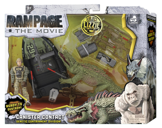 Lanard Toys Announce Rampage Movie Figures Monsters