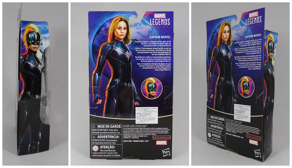 Review of the Marvel Legends exclusive action figure of Captain Marvel in her Starforce outfit, with bonus Minerva parts