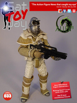 033 Action Figure Sat-TOY-day News, 16th July 2016