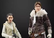Star Wars Black Series Han Solo and Princess Leia, Hoth Echo Base