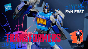 Hasbro Pulse Fan Fest, Transformers Shattered Glass Blurr Exclusive
