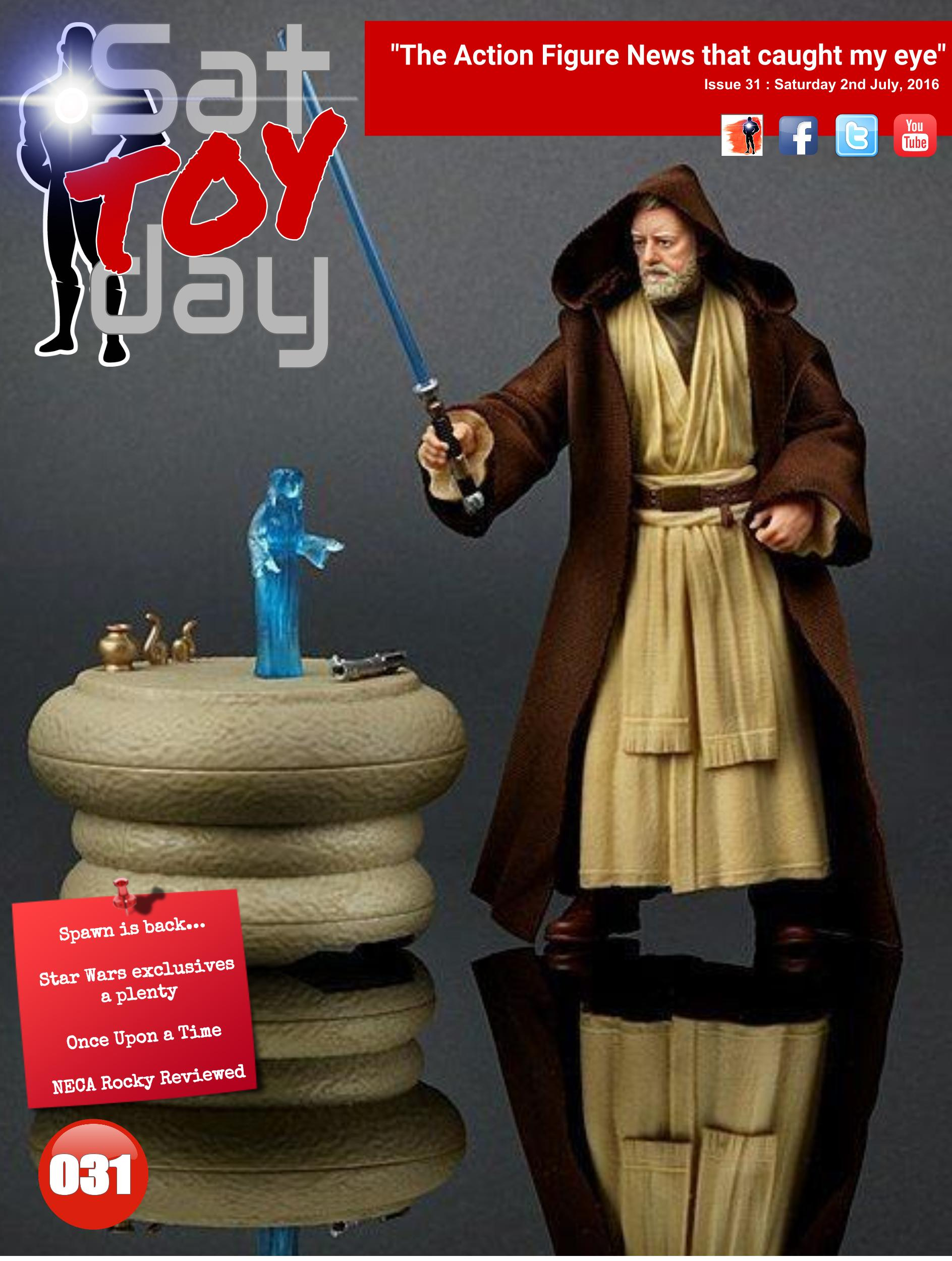 031 Action Figure Sat-TOY-day News, 2nd July 2016