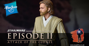 Review : Star Wars Black Series Obi-Wan Kenobi (Jedi Knight), Attack of the Clones