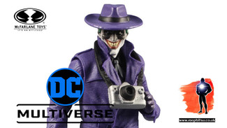McFarlane Gamestop Exclusive of The Comedian from The Three Jokers, DC Multiverse