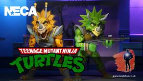 NECA Teenage Mutant Ninja Turtles Triceraton 2-Pack of Zarax and Zork