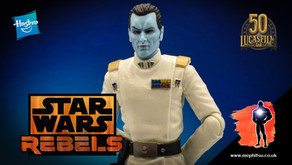 Review : Star Wars Black Series Archive Grand Admiral Thrawn, Rebels