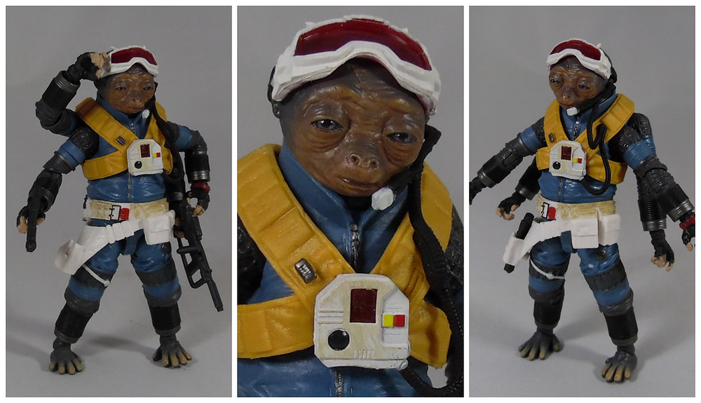 Review of the 6 inch rio durant star wars black series action figure from solo a star wars story