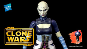 Review : Star Wars Black Series Asajj Ventress, The Clone Wars
