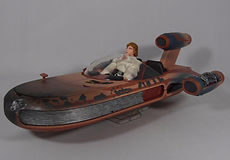 Star Wars Black Series Luke Skywalker and Landspeeder