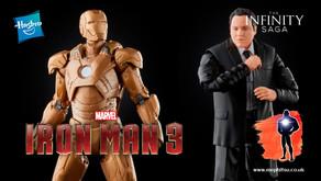 Marvel Legends Infinity Saga Happy Hogan and Iron-Man MkXXI 'Midas', Iron-Man 3 (2013)